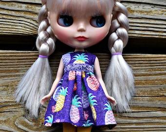 Pineapple Princess Blythe Dress