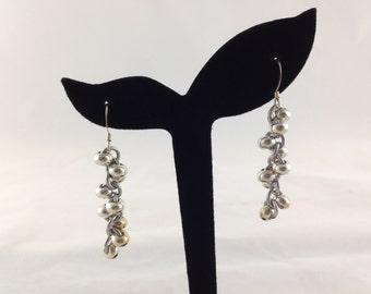Vibrant Spiraling Dangle Earring