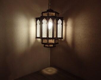 "Wooden Oriental lamp ""Falak"""