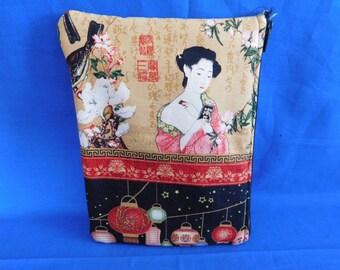 Fashion Hello Kitty Japanese Print Zipper Bags