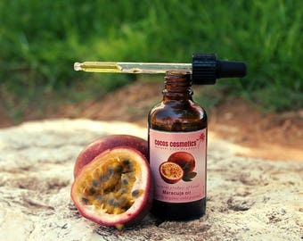 Mothers Day Gift Passion Fruit Oil - Maracuja Oil - Pure Passion Fruit unrefined cold pressed oil - Organic Maracuja Oil