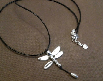 One of 50 style PENDANT-dragonfly dragonfly, adjustable, one of 50 style