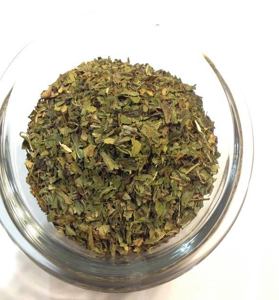 1-4 oz Organic Peppermint Leaf no filler no sulfites