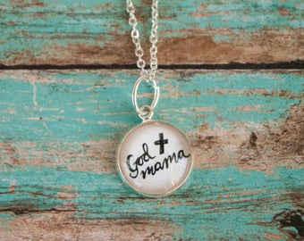 Gifts for Godmother, God Mama Necklace, Best Godmother Gifts, Gift from Godchild, 402022