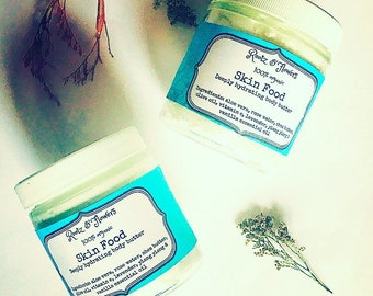 Skin food body butter, deeply hydrating body butter, skin buttet, body buttet, moisturizer, dry skin, nourishing body butter