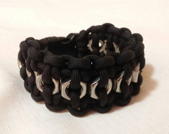 Hex Nut Paracord Bracelet (Finished Product)