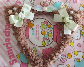 C.Kitty headband (brown)