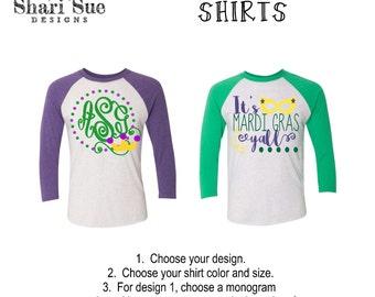Mardi gras t shirt | Etsy