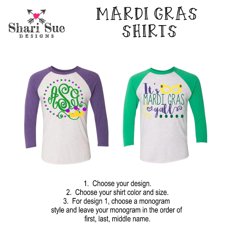 Design your own t-shirt long sleeve - Women S Mardi Gras T Shirt Mardi Gras Raglan For Women Monogrammed Mardi Gras Shirt Mardi Gras Y All Personalized Raglan For Women