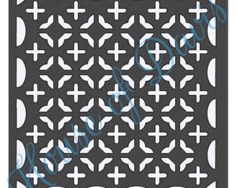 Tile Stencil - 12x12