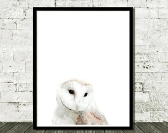 Woodlands Nursery, Nursery Art, Owl, Nursery Wall Art, Digital Download, Woodlands Decor, Nursery Printable, Owl Print, Woodlands Wall Art