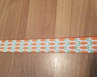"1"" Easter Carrot Collar"