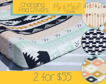 2 Changing Pad Covers / Mix & Match - Art Gallery Nursery