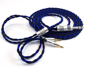 Custom Infinity Series Cable, Fits: Sennheiser HD700, Oppo PM-1/ PM-2, Hifiman HE1000