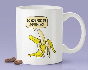 Free Shipping Worldwide - Do You Find Me A-Peel-Ing? Funny Banana - Coffee Mug