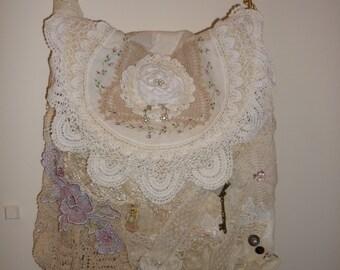 1 Shabby chic vintage Tote bag