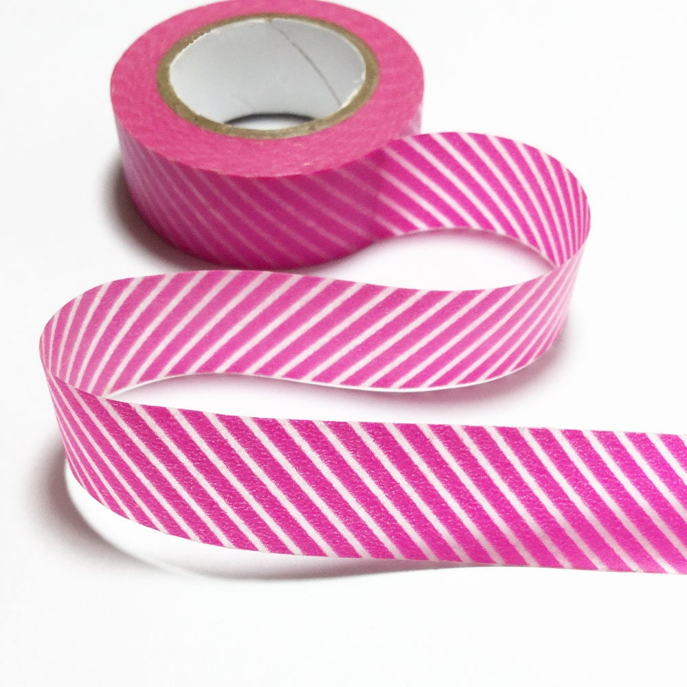 Stripes red washi tape stripes red decorative tape for Tape works decorative tape