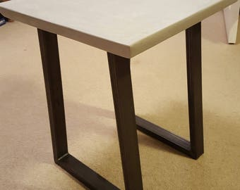 Concrete effect coffee table - made to order