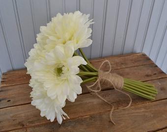 Artificial Gerbera Wedding Flowers Bouquet