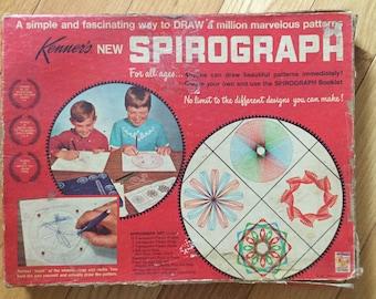 Vintage 1967 Kenner's Original Spirograph #401