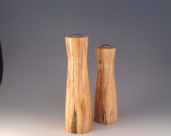 Salt and pepper shakers, tallest is 7 inches, production # 2147-15 & 2146.
