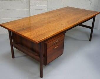 Vintage Rosewood Partners Desk
