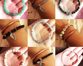 Custom Beaded Bracelets! You Choose!