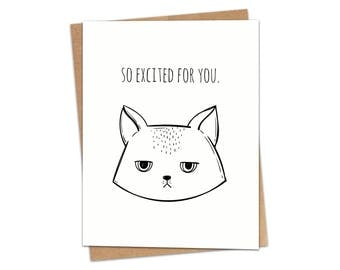 So Excited For You Greeting Card SKU C148