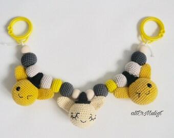 Sale Super Cute Design Bunny Stroller Toy