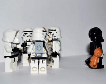 "LEGO Star Wars 6""4"" mounted print"