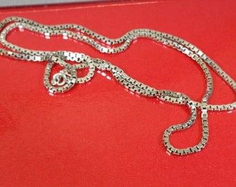 76.5 cm / 2.1 mm Venetian chain Silver 925 HK193
