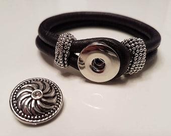 Leather Bracelet / leather wrap bracelet LB5-14