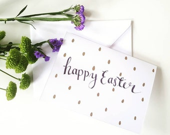 Happy Easter - Greetings card