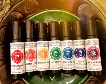 Chakras oils