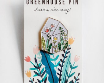 Green House Pin