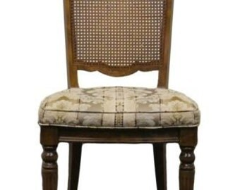 ETHAN ALLEN Classic Manor Cane Back Side Chair 15-6012