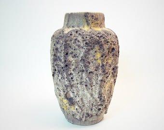 Fat Lava Vintage West germany Mid Century Seventies Retro Scheurich vase 549-21