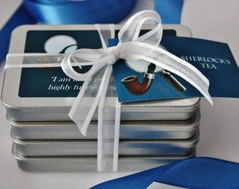 Sherlock's Teas - Tea Gift - Sherlock Holmes Inspired Gift - Sherlock Gift - Holmes - Sherlock