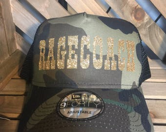 Ragecoach for Stagecoach Music Festival/trucker hat