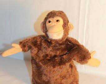 Antique Steiff Monkey Hand Puppet