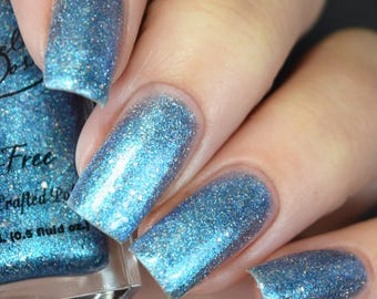 Mermaid's Tail  (Light blue shimmery nail polish)