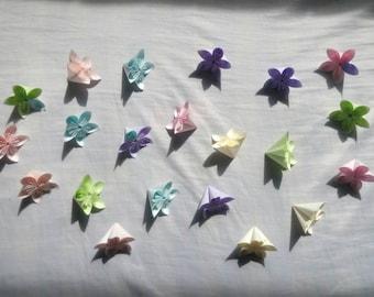 おりがみ 花 Origami Flower (37 個 / pieces)