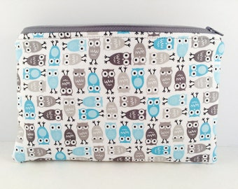 F-owl Play Zippered Pouch