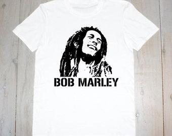 Bob Marley- Printed Adult Tee