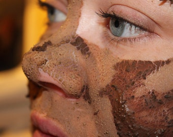 Clay Face Mask - Coffee Face Mask - Anti-Aging Face Mask - Dry Face Mask - Chocolate Face Mask - Mint Face Mask - Vegan Face Mask