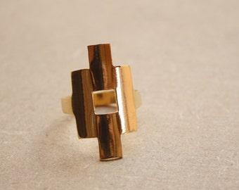 Ring - Brass - Tribal
