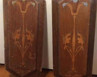 Wooden Inlaid Panels, Architectural Salvage, Furniture Salvage, Indian  Furniature, Hardwood Panels,