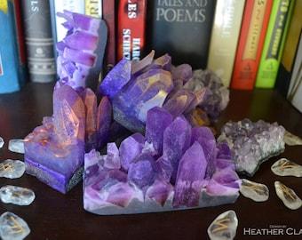 Amethyst Soap Crystal Cluster
