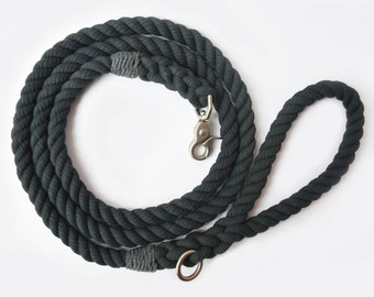 Army Green Rope Dog Leash