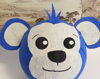 Monkey -OR- Dog Surprise Ball